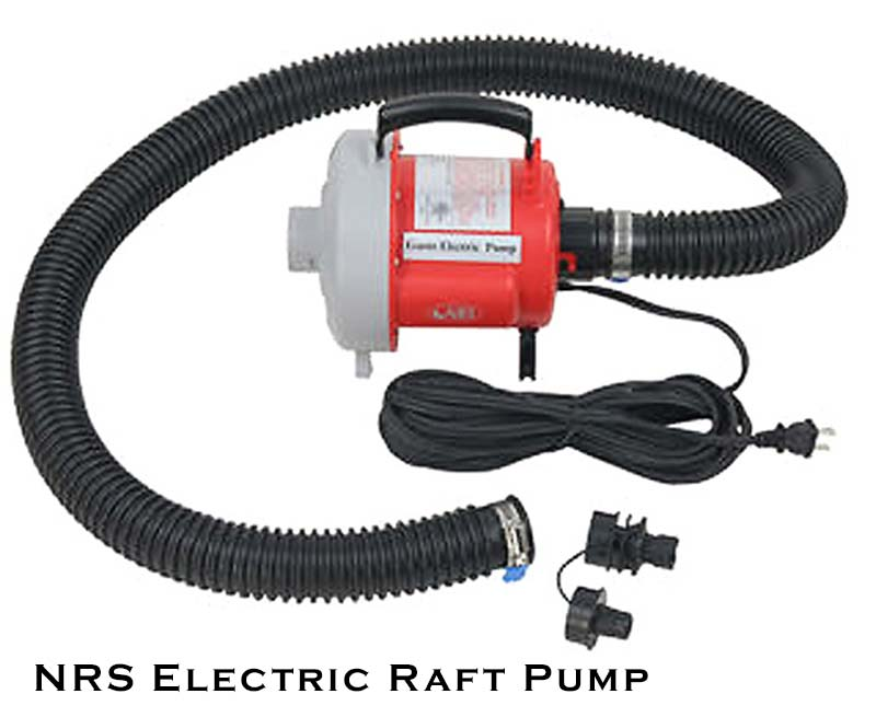 NRS Electric Raft Pump (Inflatable Kayaks too)