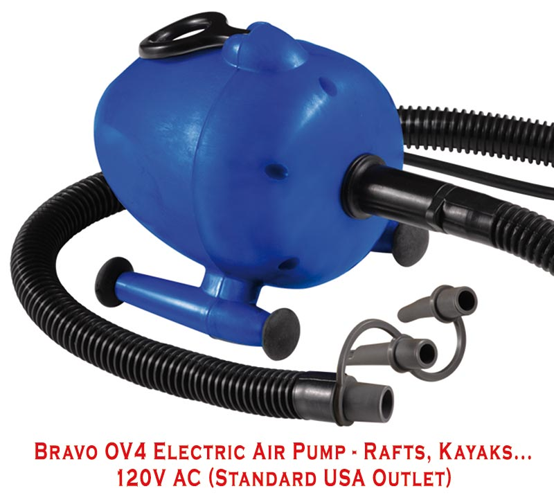 Bravo Electric Raft Pump OV4 120V A/C