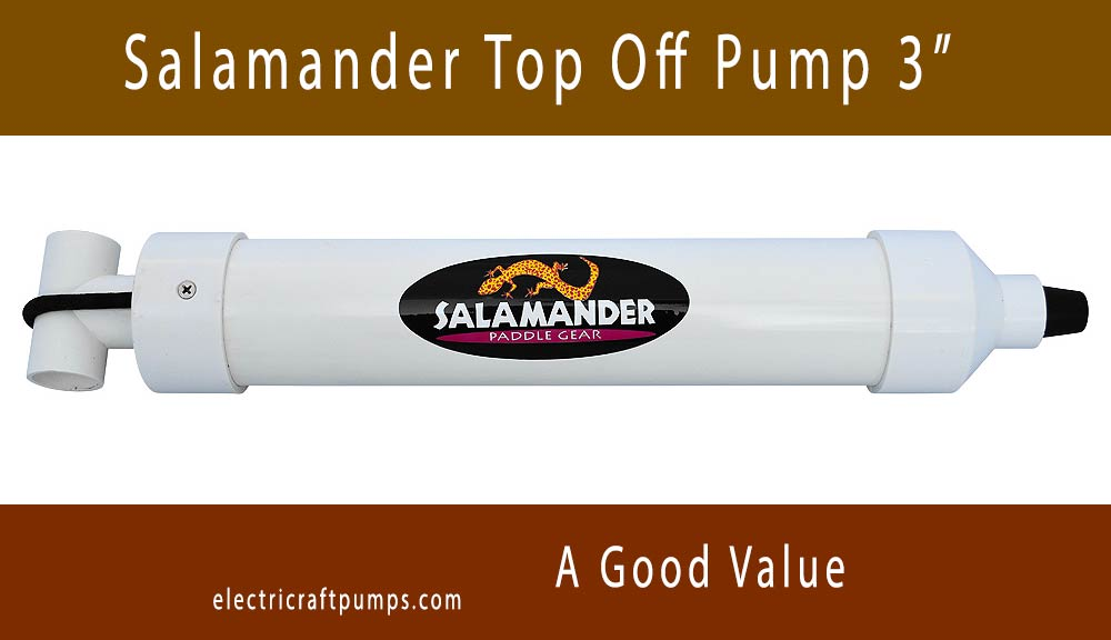 Salamander Top Off Hand Pump 3 inch
